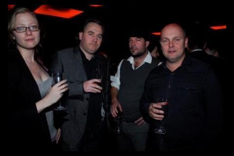 Jen Handorf, Sean Hogan, Simon Rumley and Julian Richards